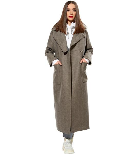Купить бежевое пальто для женщин с доставкой по Москве и городам России